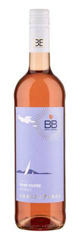 BB hosszú7vége Rosé száraz 0.75 l