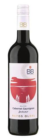 BB Napos oldal cabernet sauvignon, száraz vörös, 0.75 l