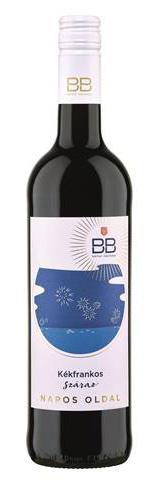 BB Napos oldal Kékfrankos, száraz vörös, 0.75 l