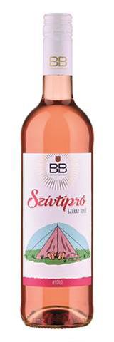 BB YOLO Szívtipró, száraz rosé, 0.75 l