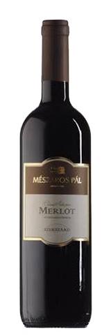 Merlot, száraz vörös, 0.75 l
