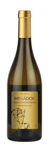 Menádok Chardonnay, félszáraz fehér, 0.75 l