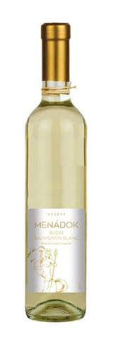 Menádok Sauvignon Blanc, félédes fehér, 0.5 l