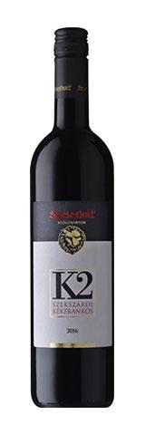K2 Kékfrankos, száraz vörös, 0.75 l