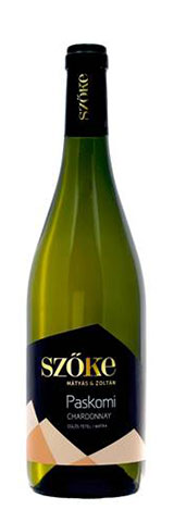 Paskomi Chardonnay, száraz fehér, 0.75 l