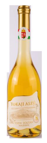 Tokaji Aszú 5 Puttonyos, édes fehér, 0.5 l